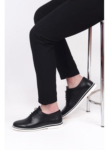 James Franco 5692 Günlük Erkek Deri Ayakkabı Lacivert